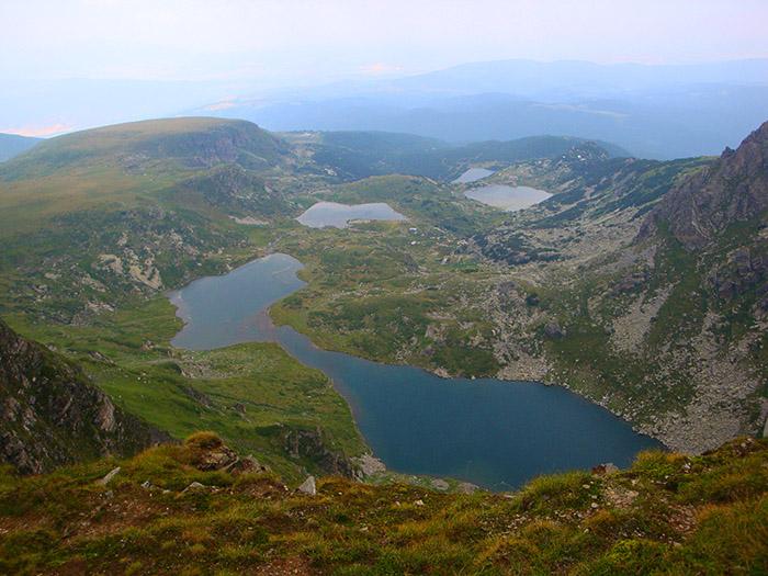 Seven lakes Rila
