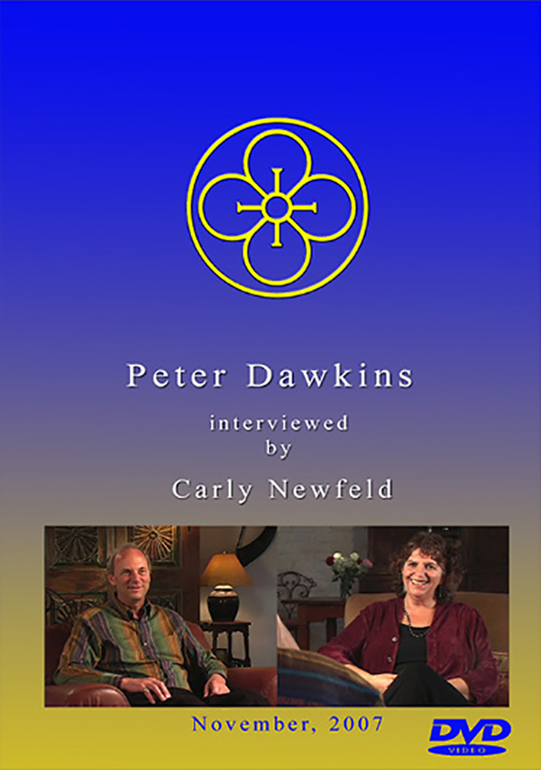 Peter Dawkins interviewed by Carly Newfeld