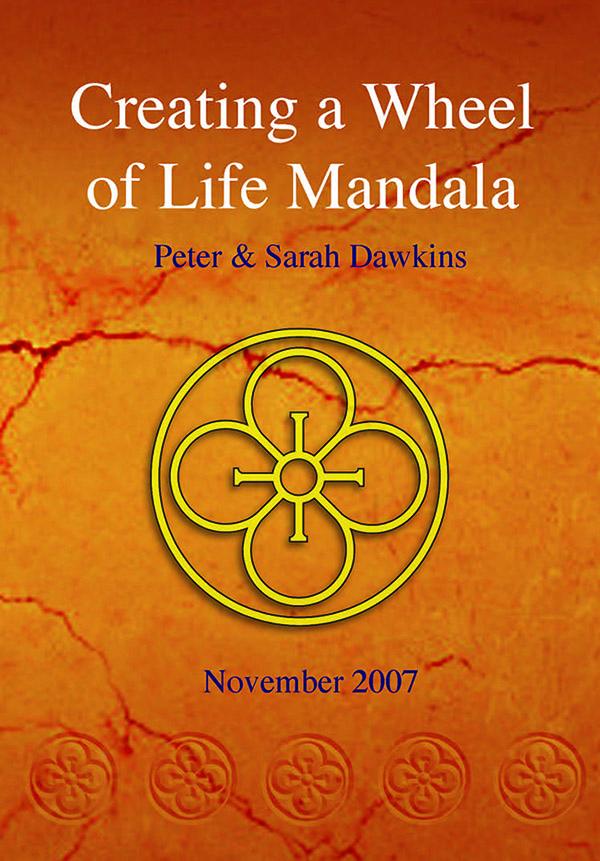 Creating a Wheel of Life Mandala - Demonstration by Sarah & Peter Dawkins