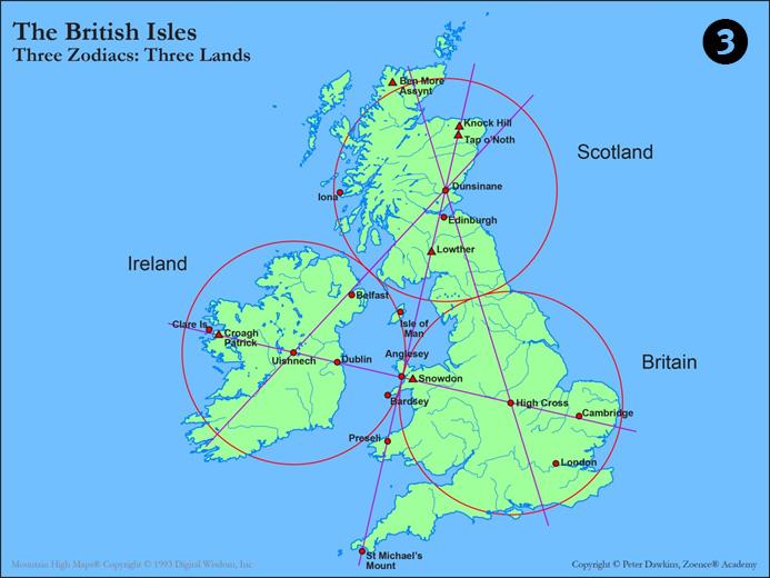 British Isles Landscape zodiac